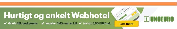 UnoEuro webhotel rabatkode