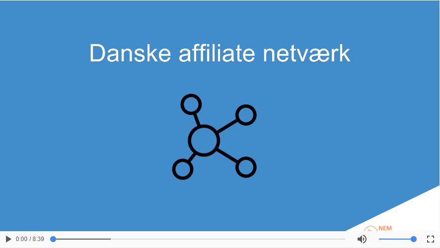 Danske affiliate netværk | Disse bør du anvende!