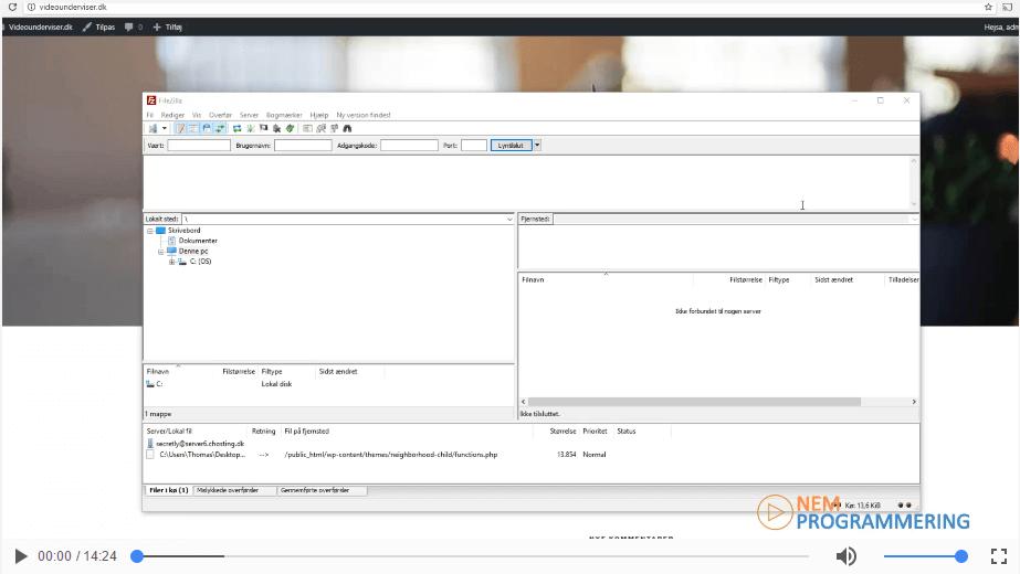 Opsætning af lokalt udviklingsmiljø i WordPress