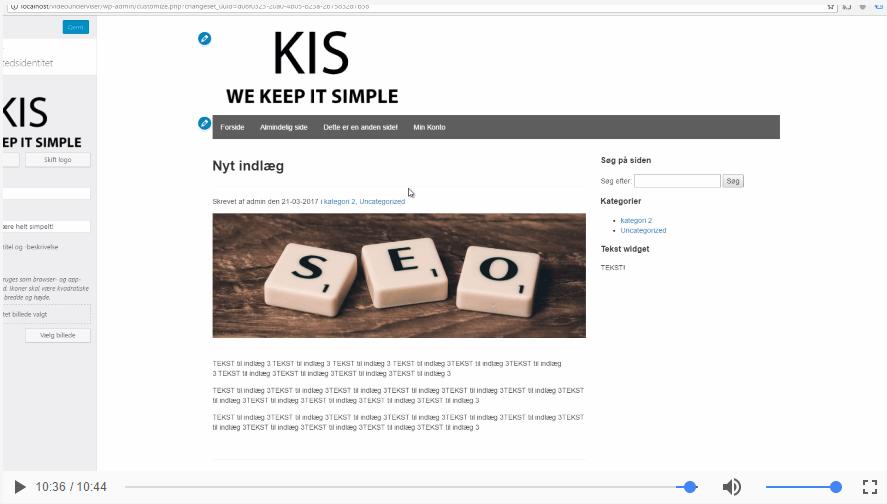 Tilføj logo-funktionalitet til dit WordPress tema
