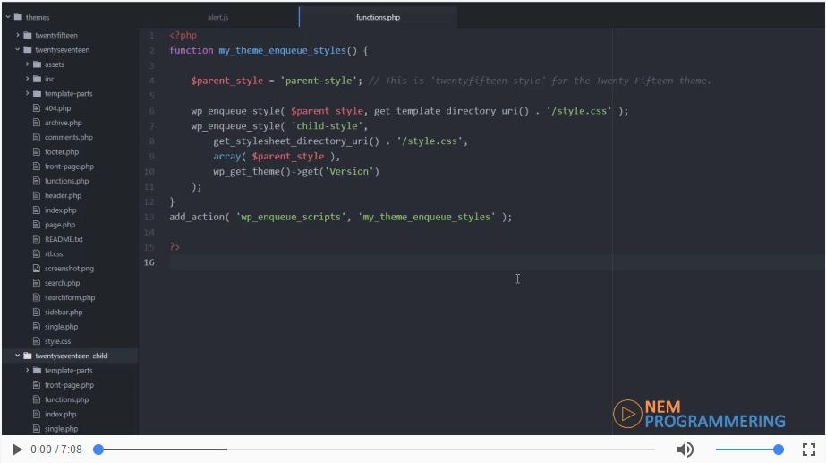 Introduktion til functions.php filen | Motoren bag dit tema!