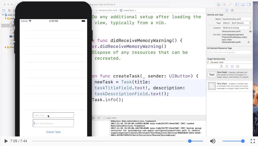Fortsættelse på app-funktioner | App Part 3