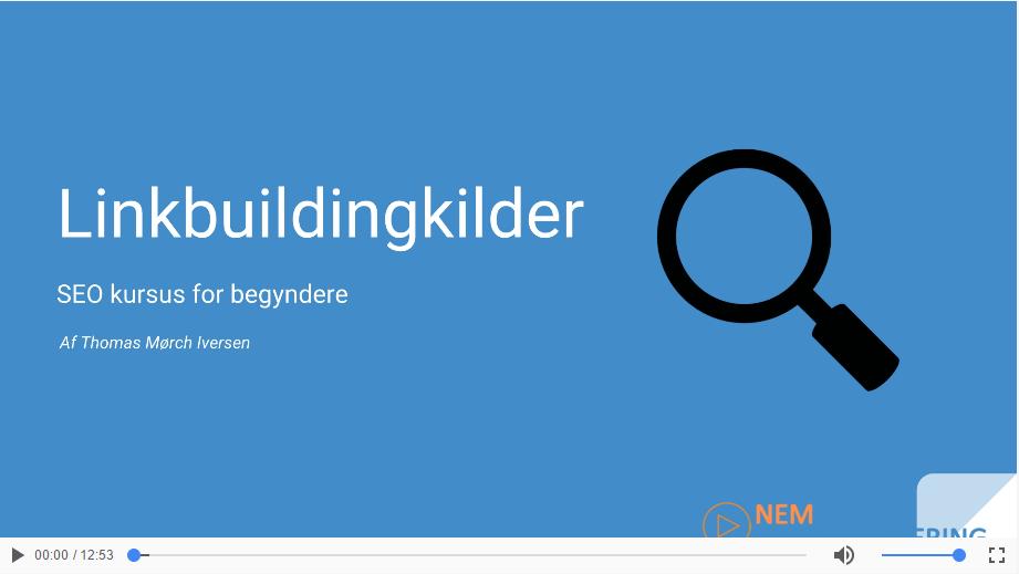 Linkbuildingkilder