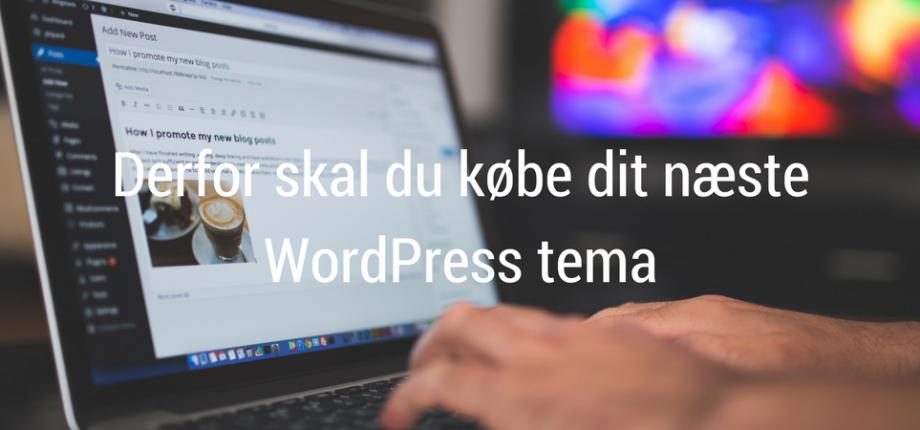 køb wordpress tema