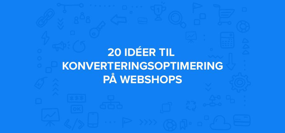 konverteringsoptimering webshop