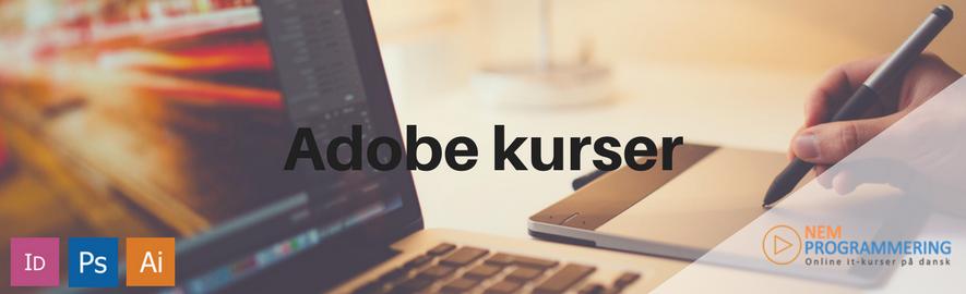Adobe kurser