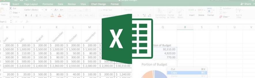 Budget med Excel